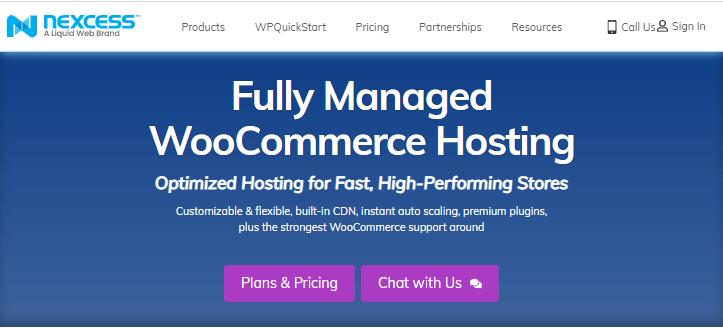 Nexcess WooCommerce Hosting