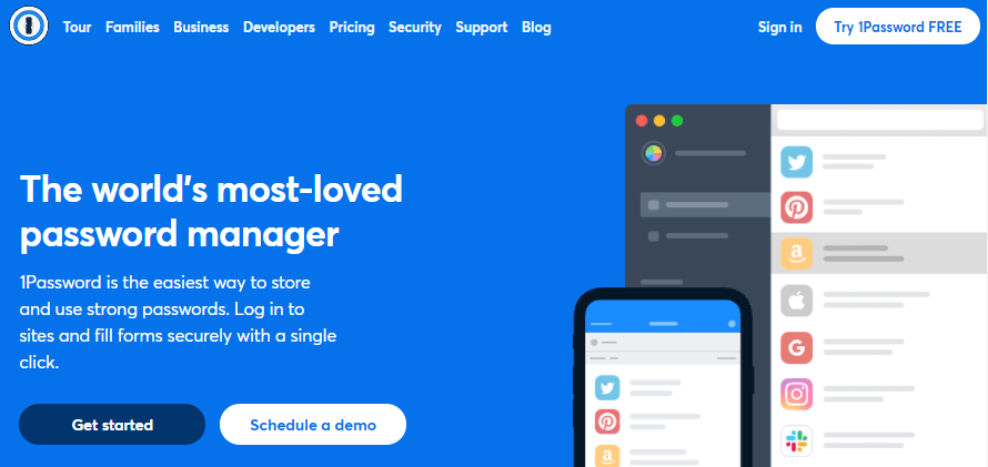 1password manager tool