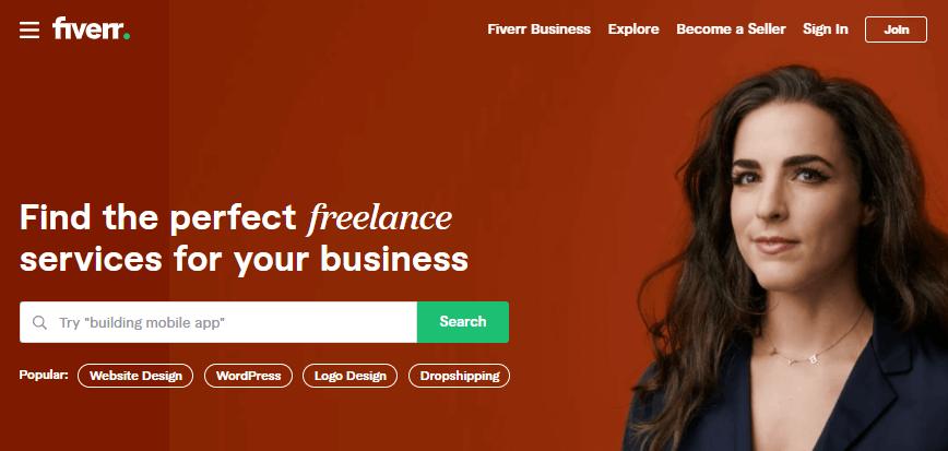 Hire WordPress SEO experts on Fiverr