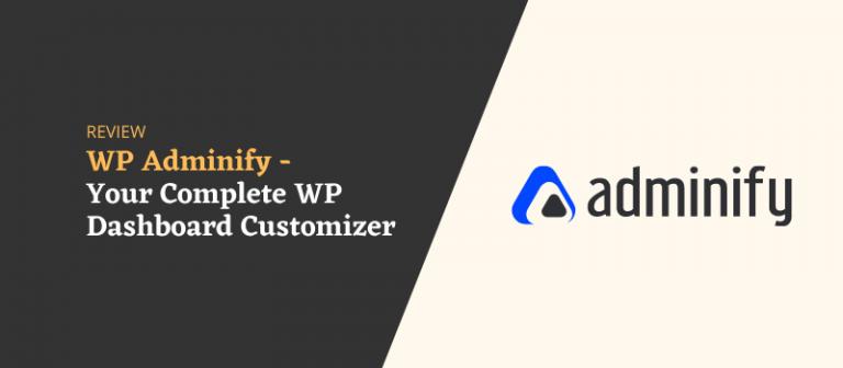 WP Adminify – All In One WordPress Dashboard Customizer